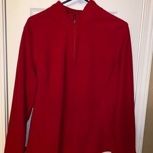 XXL Red Women's Champion Pull Over